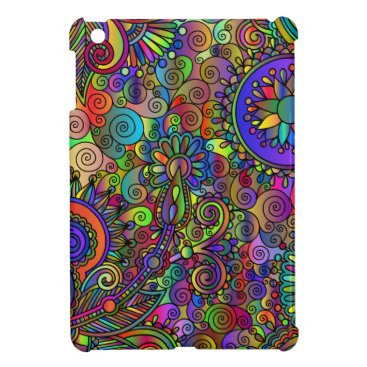 Fashionable case in fractal style case for the iPad mini
