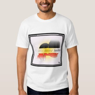 Fear, Grief, Support-Belgium T-shirt
