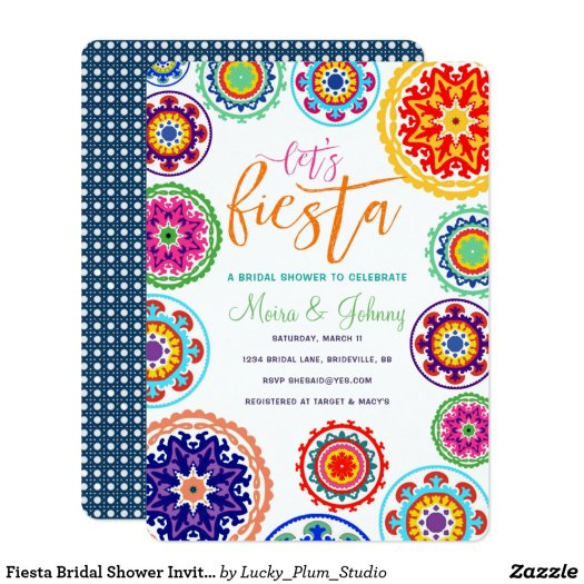 Fiesta Bridal Shower Invitation