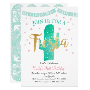 Fiesta Cactus Invitation, Perfect for any Event! Card