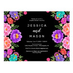 Fiesta Couples Shower Invitation Postcard