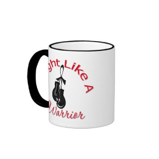 Fight Like A Warrior Melanoma mug