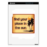 Find Your Place In The Sun skins