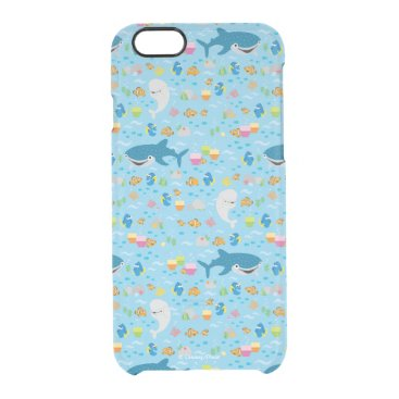 Finding Dory Colorful Pattern Clear iPhone 6/6S Case