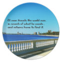 Finding your truth dinner plate