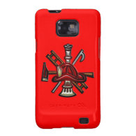 Firefighter Fire and Rescue Department Emblem Samsung Galaxy S2 Cover