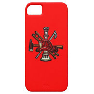 Firefighter Fire and Rescue Department Emblem iPhone 5 Cover