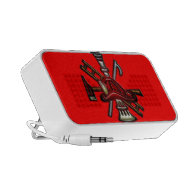 Firefighter Fire and Rescue Department Emblem Laptop Speakers