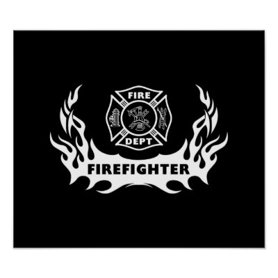 Firefighter Tattoo Posters by bonfirefirefighters