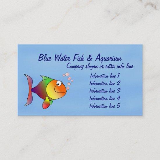 Fish Aquarium Business Card