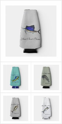 Fishing Koozie and Coolers