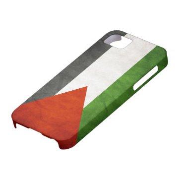 Flag of Palestine - Grunge iPhone SE/5/5s Case