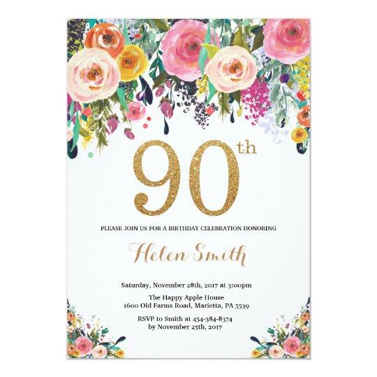 invitations cheerful happy birthday set
