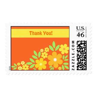Floral Thank You - Postage