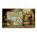 Florida, 1889 vintage card