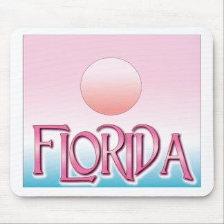 Florida Airbrush Sunset Mouse Pads