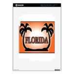 Florida Airbrushed Look Orange Sunset Palm Trees skins