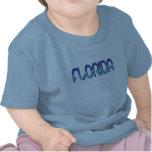 Florida - Blue Gradient t-shirts