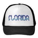 Florida - Blue Gradient hats