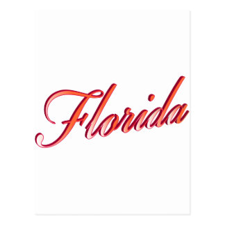 Florida Elegant Script Post Cards