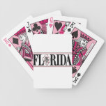 Florida Hibiscus Flower playing cards
