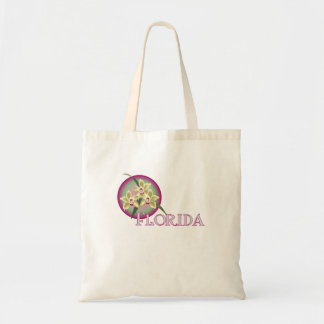 Florida Orchid Trio Tote Bag