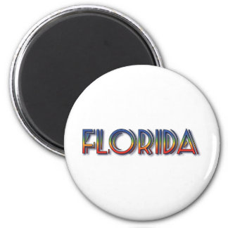 Florida Seaside - Rainbow Text Magnets