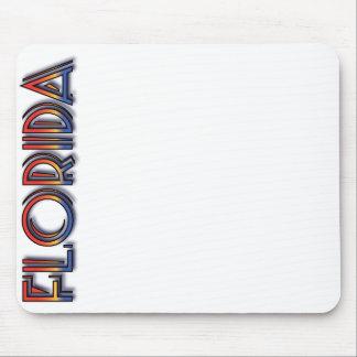 Florida Seaside - Rainbow Text Mousepad