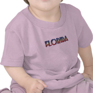 Florida Seaside - Rainbow Text Shirt