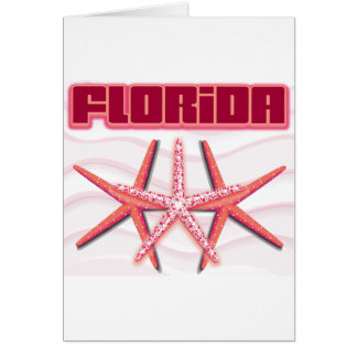 Florida Starfish Greeting Card