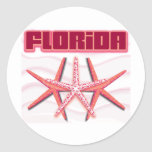 Florida Starfish stickers