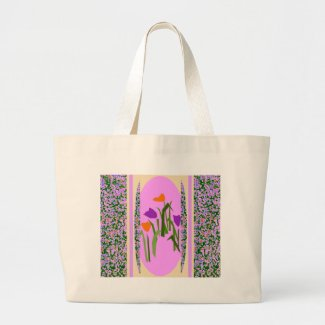 Flower Border by CricketDiane bag