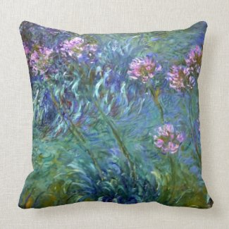 Flower Glow American MoJo Pillow