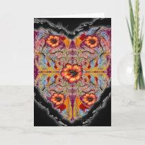 Flowering Heart Valentine Neovictorian cards
