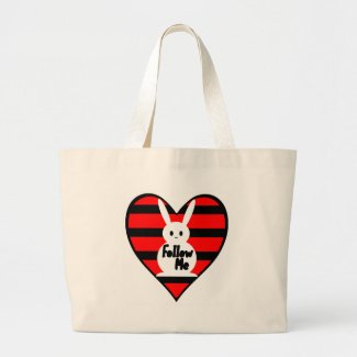 Follow Me White Rabbit bag