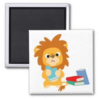 Food for Thought Cartoon magnet magnet