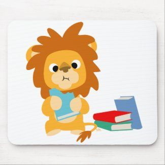 Food for Thought Cartoon T-shirt mousepad