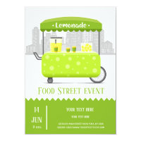 Food street lemonade card