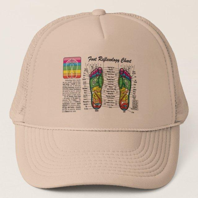 Foot-Massage-Reflexology Trucker Hat