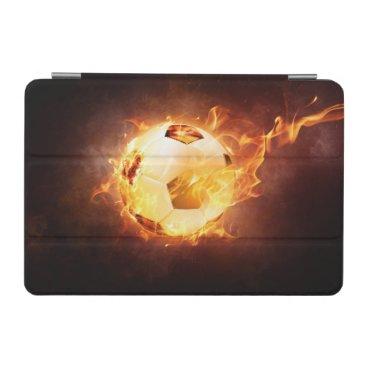 Football under Fire, Ball, Soccer iPad Mini Cover