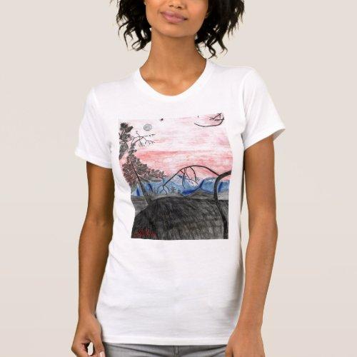 Forest Sunset Tank Top by Julia Hanna shirt