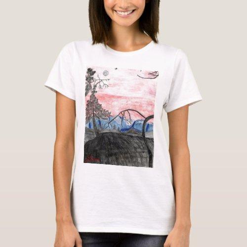 Forest Sunset Top by Julia Hanna shirt