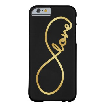 Forever Love - Infinity Love Symbol Barely There iPhone 6 Case