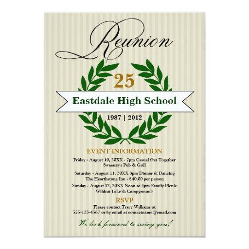 High School Announcement Cards