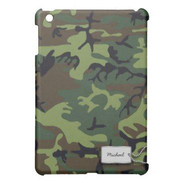 Forrest Military Camo iPad Mini Cover
