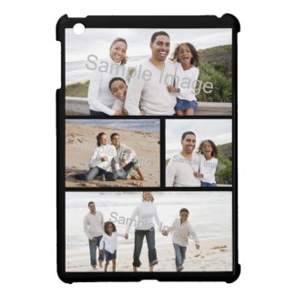 Four Photo Collage iPad Mini Case