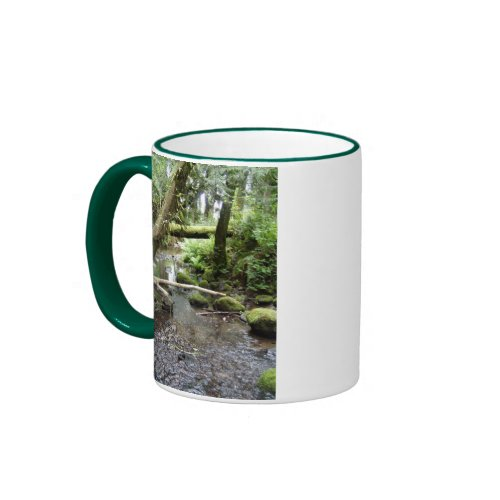 Fox Creek, Rainier, Oregon mug