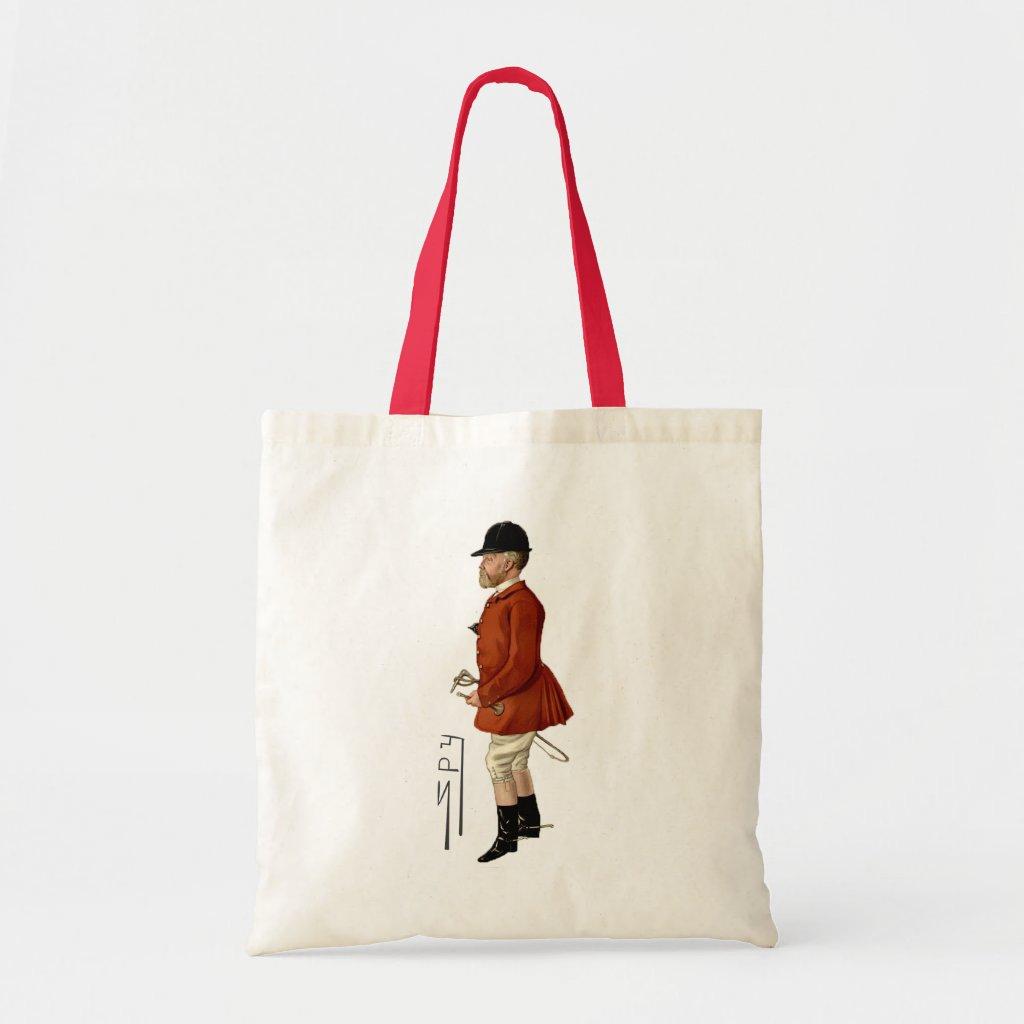 Fox Hunter Spy Print Tote Bag | Mr Hargreaves