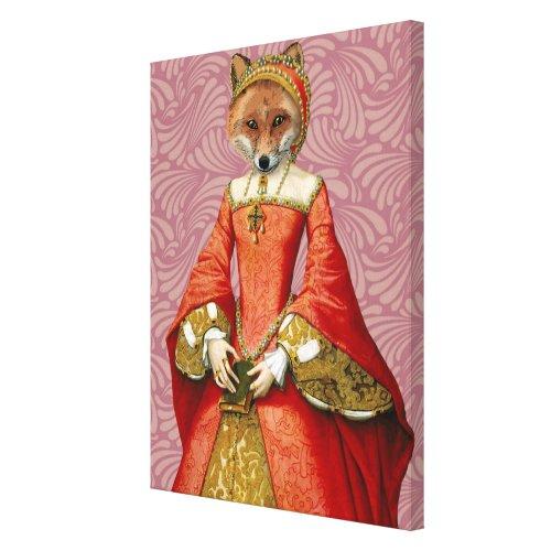 Fox Queen Canvas Print