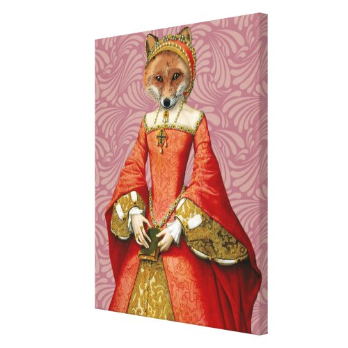 Fox Queen Canvas Print